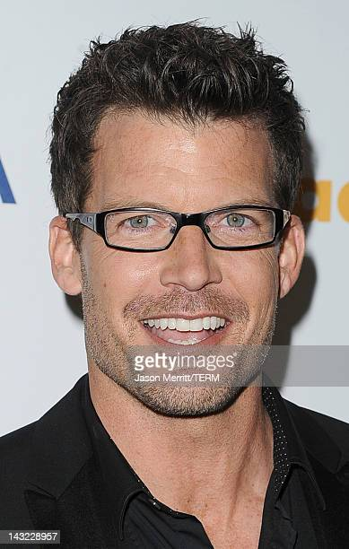 Actor Mark Deklin arrives at the 23rd Annual GLAAD Media Awards presented by Ketel One and Wells Fargo held at Westin Bonaventure Hotel on April 21...