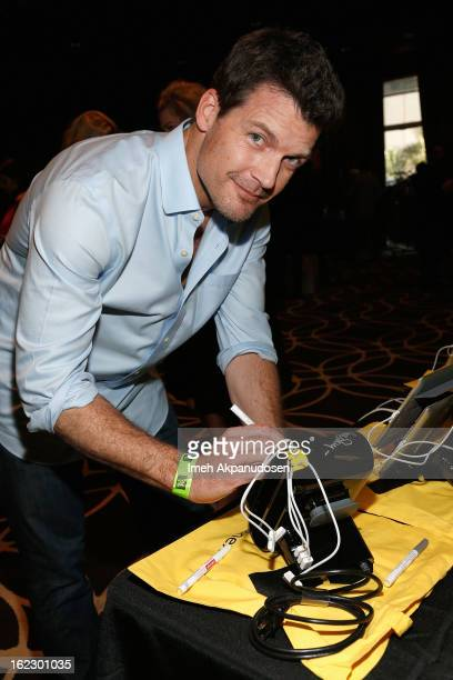 Actor Mark Deklin attends Kari Feinstein's PreAcademy Awards Style Lounge at W Hollywood on February 21 2013 in Hollywood California
