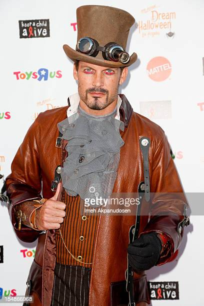Actor Mark Deklin attends the 2012 'Dream Halloween' presented by Keep A Child Alive at Barker Hangar on October 27 2012 in Santa Monica California