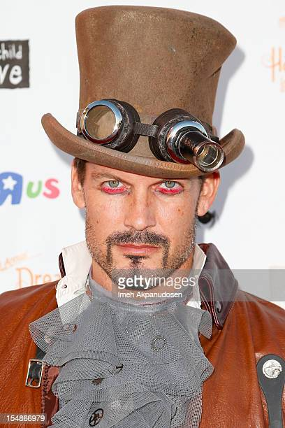 Actor Mark Deklin attends the 2012 'Dream Halloween' presented by Keep A Child Alive at Barker Hangar on October 27, 2012 in Santa Monica, California.