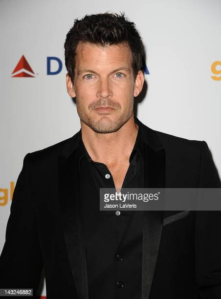 Actor Mark Deklin attends the 23rd annual GLAAD Media Awards at Westin Bonaventure Hotel on April 21 2012 in Los Angeles California