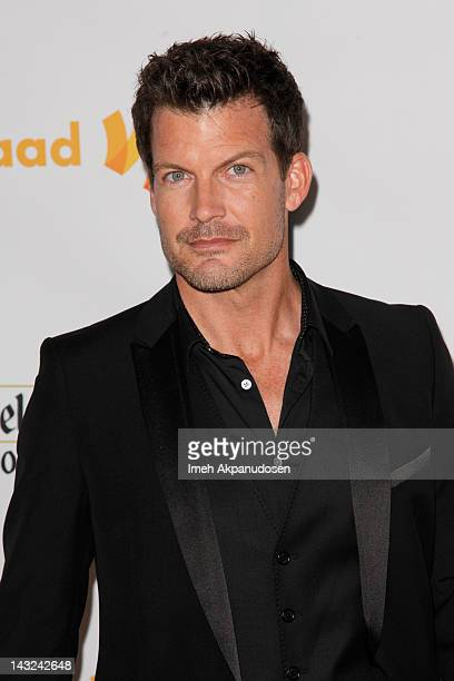 Actor Mark Deklin attends the 23rd Annual GLAAD Media Awards at the Westin Bonaventure Hotel on April 21 2012 in Los Angeles California