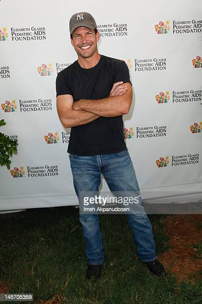 Actor Mark Deklin attends the 23rd Annual Time for Heroes Celebrity Picnic to benefit the Elizabeth Glaser Pediatric AIDS Foundation at Wadsworth...