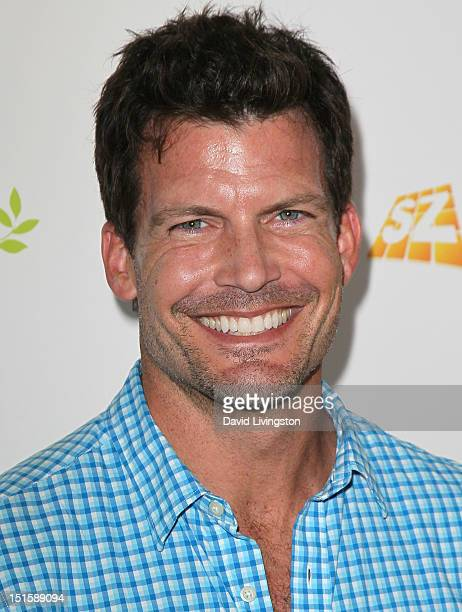 Actor Mark Deklin attends the 2nd Annual Red CARpet event at SLS Hotel on September 8 2012 in Beverly Hills California