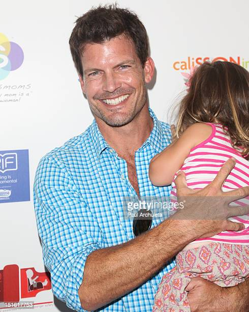 Actor Mark Deklin attends the 2nd annual Red CARpet event at the SLS Hotel on September 8 2012 in Beverly Hills California