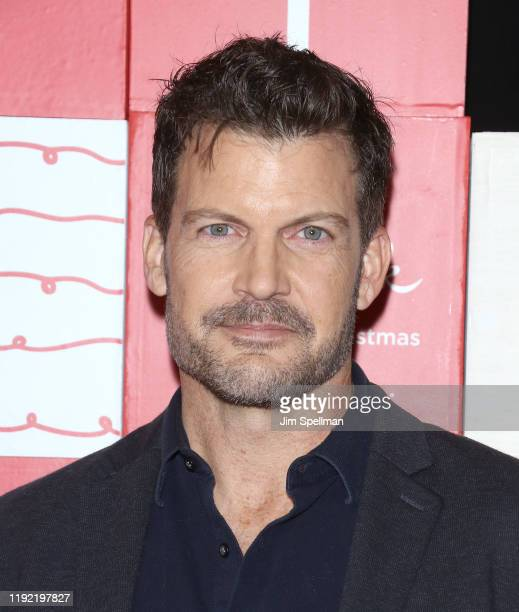 "Actor Mark Deklin attends the New York screening of Hallmark Channel's ""Christmas At Dollywood"" at Village East Cinema on December 05, 2019 in New..."