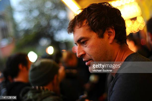Actor Mark Duplass arrives to the premiere of Safety Not Guaranteed during 2012 SXSW Music Film Interactive Festival at the Paramount Theatre on...