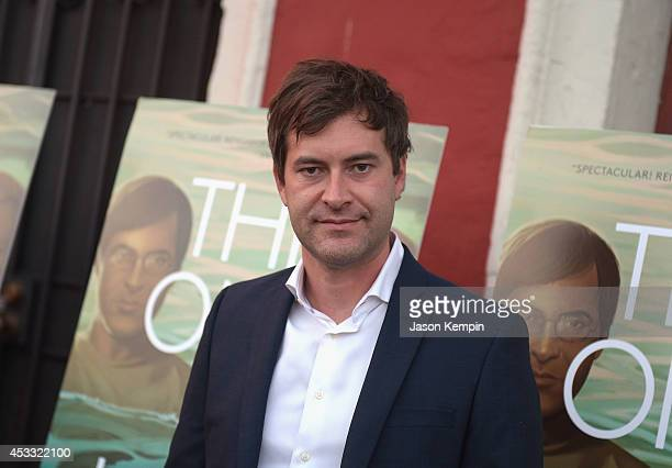 Actor Mark Duplass attends the premiere of RADiUSTWC's The One I Love at the Vista Theatre on August 7 2014 in Los Angeles California