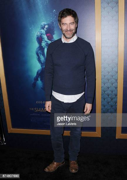 Actor Mark Duplass attends the premiere of 'The Shape of Water' at the Academy of Motion Picture Arts and Sciences on November 15 2017 in Los Angeles...