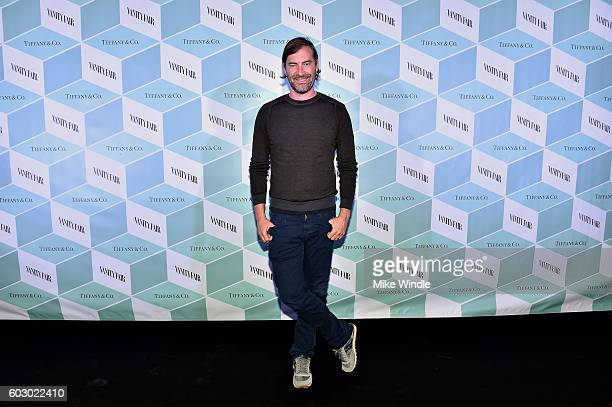 Actor Mark Duplass attends the Vanity Fair and Tiffany Co private dinner toasting Lupita Nyong'o and celebrating Legendary Style at ShangriLa Hotel...