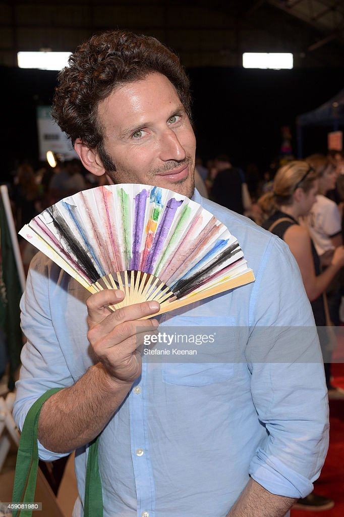 Actor Mark Feuerstein attend P.S. ARTS presents Express Yourself 2014 with sponsors OneWest Bank and Jaguar Land Rover at Barker Hangar on November 16, 2014 in Santa Monica, California.