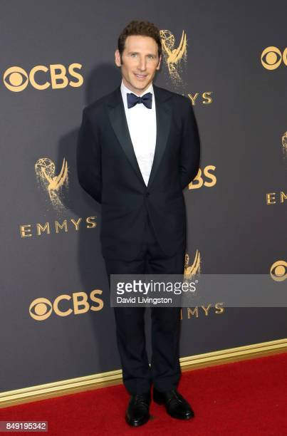 Actor Mark Feuerstein attends the 69th Annual Primetime Emmy Awards Arrivals at Microsoft Theater on September 17 2017 in Los Angeles California