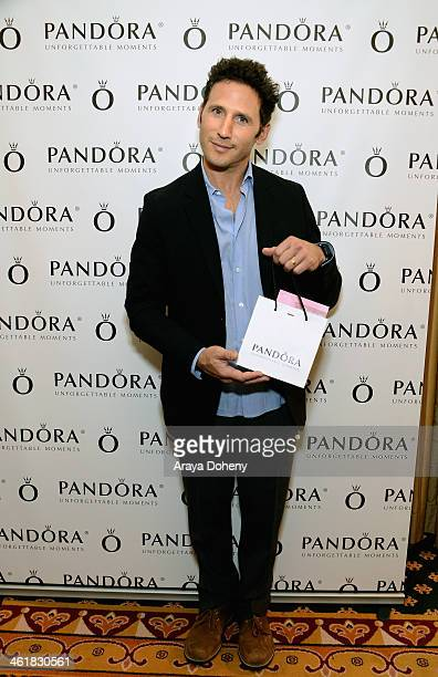 Actor Mark Feuerstein attends the HBO Luxury Lounge featuring PANDORA Jewelry at Four Seasons Hotel Los Angeles at Beverly Hills on January 11 2014...