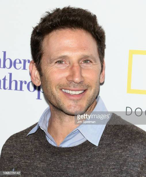 Actor Mark Feuerstein attends the New York premiere of Paris to Pittsburgh hosted by Bloomberg Philanthropies and RadicalMedia at Walter Reade...