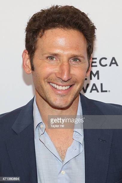 Actor Mark Feuerstein attends the world premiere of 'Meadowland' during 2015 Tribeca Film Festival at SVA Theater 1 on April 17, 2015 in New York...
