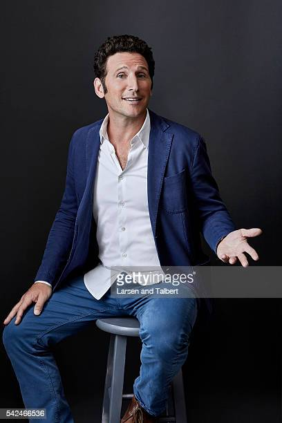 Actor Mark Feuerstein is photographed for Entertainment Weekly Magazine at the ATX Television Fesitval on June 10 2016 in Austin Texas
