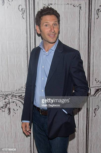 Actor Mark Feuerstein visits AOL Build at the AOL Studios In New York on June 3 2015 in New York City