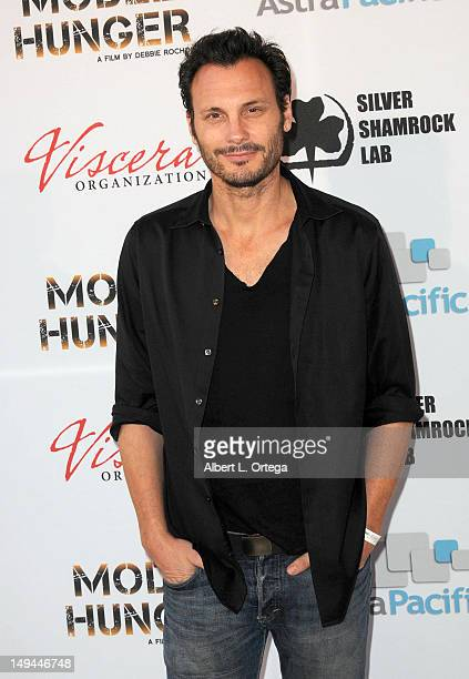 Actor Mark Gantt arrives for the 2012 Viscera Film Festival at The Egyptian Theater on July 7, 2012 in Hollywood, California.