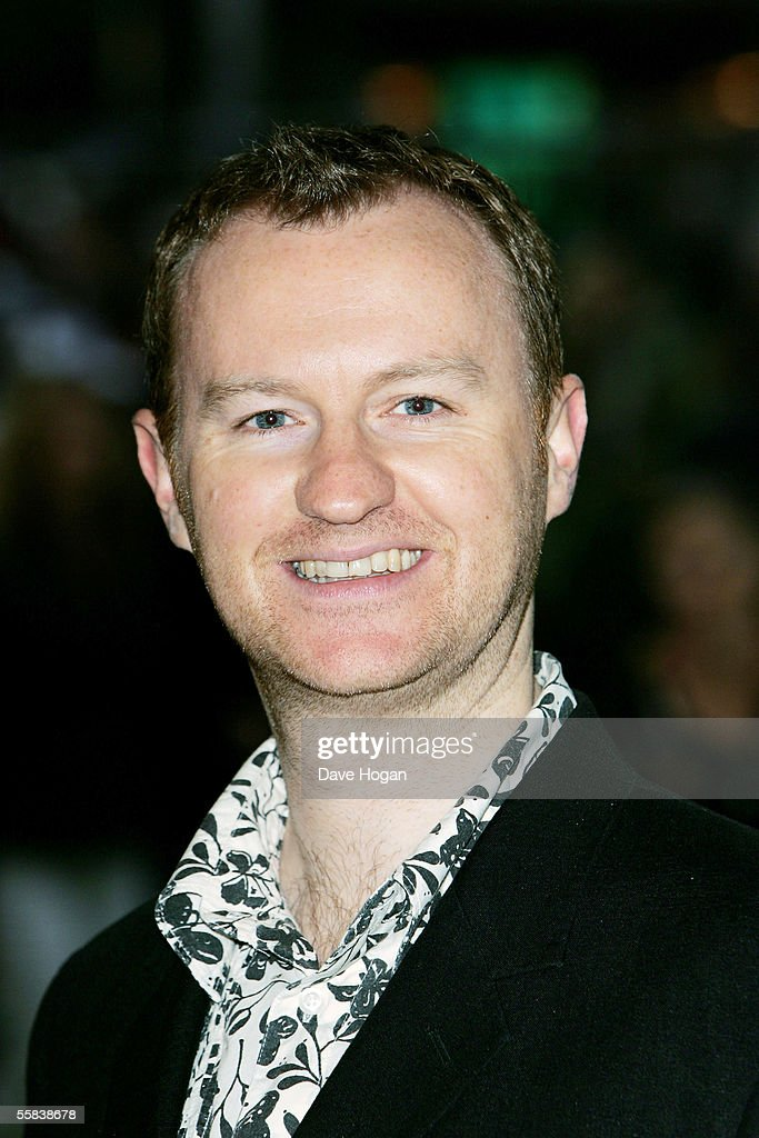 Actor Mark Gatiss arrives at the UK Charity premiere of animated film 'Wallace & Gromit: The Curse Of The Were-Rabbit' at the Odeon West End on October 2, 2005 in London, England.