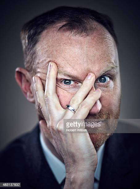 Actor Mark Gatiss is photographed for the Times on March 13 2015 in London England
