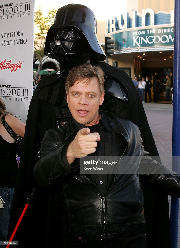 Actor Mark Hamill And Darth Vader Arrive At The Star Wars Episode News Photo Getty Images