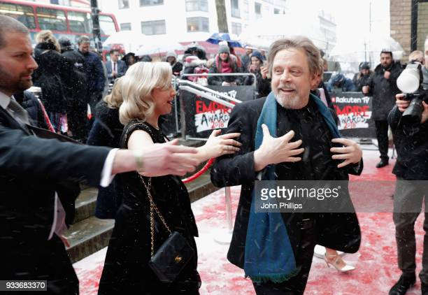 Actor Mark Hamill and his daughter Chelsea Hamill attend the Rakuten TV EMPIRE Awards 2018 at The Roundhouse on March 18 2018 in London England