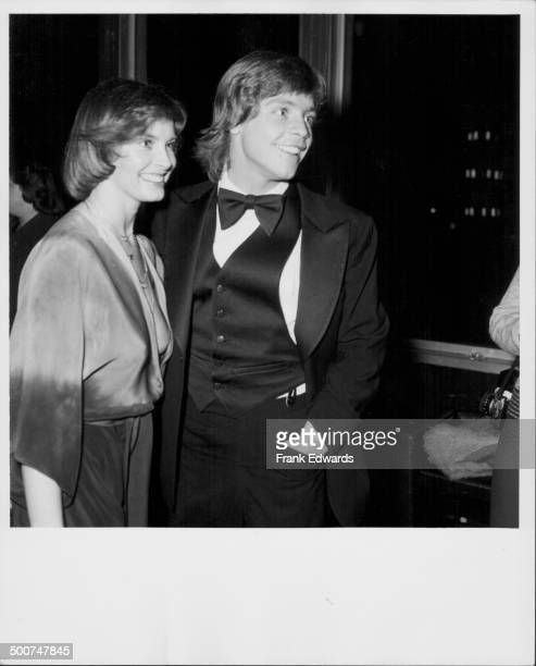 Actor Mark Hamill and his wife, Marilou York, attending an awards ceremony at the Coconut Grove, California, January 21st 1978.