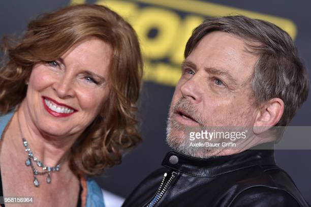 Actor Mark Hamill and wife Marilou York arrive at the premiere of Disney Pictures and Lucasfilm's 'Solo A Star Wars Story' at the El Capitan Theatre...