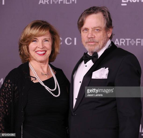 Actor Mark Hamill and wife Marilou York attend the 2017 LACMA Art + Film gala at LACMA on November 4, 2017 in Los Angeles, California.