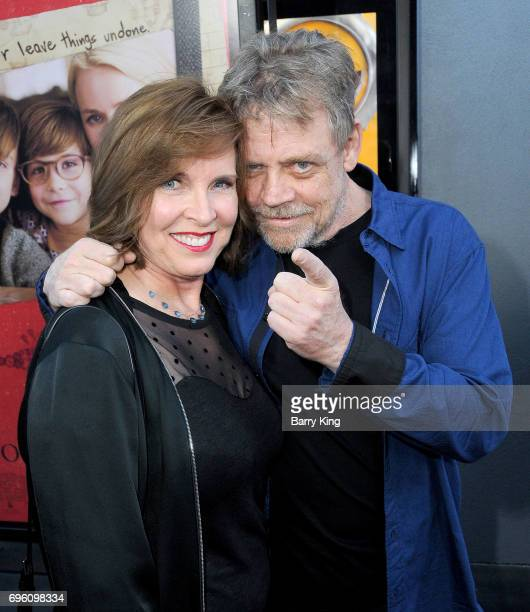 Actor Mark Hamill and wife Marilou York attend the 2017 Los Angeles Film Festival - Opening Night Premiere Of Focus Features' 'The Book Of Henry' at...