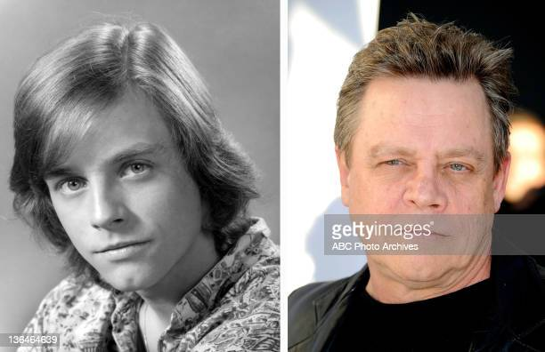 In this composite image a comparison has been made of actor Mark Hamill Many of today's leading Hollywood stars began their careers in daytime...