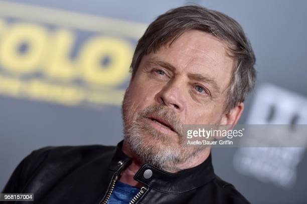 Actor Mark Hamill arrives at the premiere of Disney Pictures and Lucasfilm's 'Solo A Star Wars Story' at the El Capitan Theatre on May 10 2018 in...
