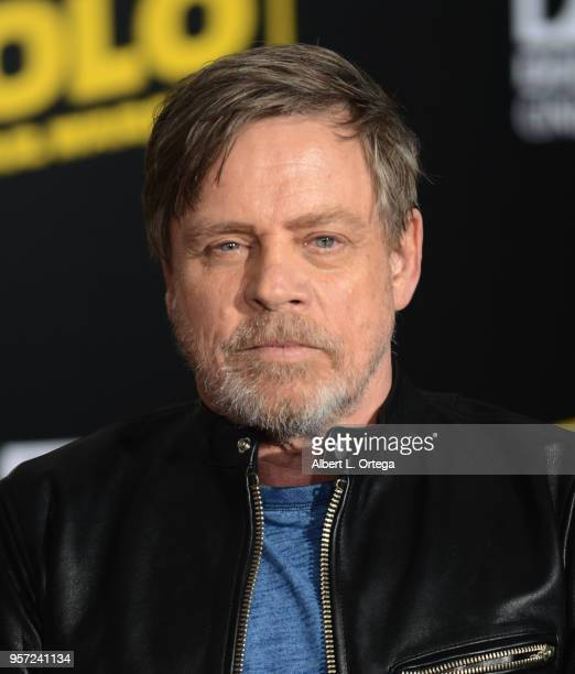Actor Mark Hamill arrives for the Premiere Of Disney Pictures And Lucasfilm's 'Solo A Star Wars Story' held on May 10 2018 in Los Angeles California