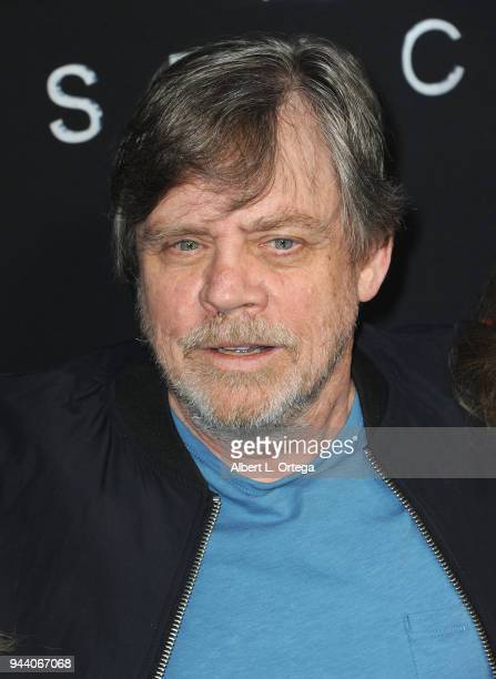 Actor Mark Hamill arrives for the Premiere Of Netflix's 'Lost In Space' Season 1 held at The Cinerama Dome on April 9 2018 in Los Angeles California