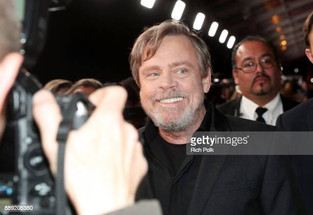 Actor Mark Hamill at Star Wars The Last Jedi Premiere at The Shrine Auditorium on December 9 2017 in Los Angeles California