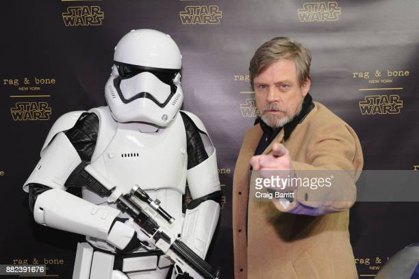 Actor Mark Hamill attends as rag bone and Disney celebrate the launch of the rag bone X Star Wars Collection on November 29 2017 in New York City
