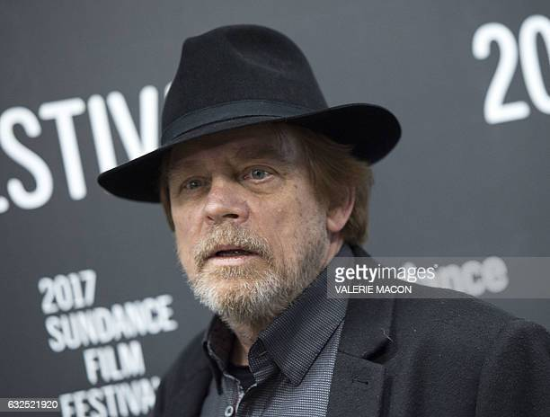 Actor Mark Hamill attends 'Brigsby Bear' Premiere at Eccles Center Theatre during the 2017 Sundance Film Festival in Park City Utah January 23 2017 /...