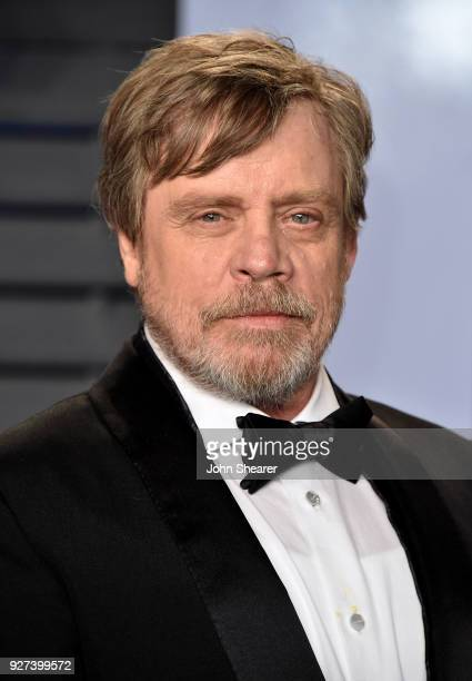 Actor Mark Hamill attends the 2018 Vanity Fair Oscar Party hosted by Radhika Jones at Wallis Annenberg Center for the Performing Arts on March 4 2018...