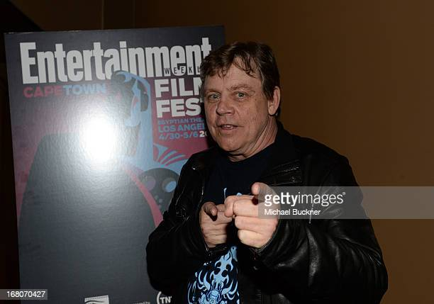 """Actor Mark Hamill attends the screening of """"Star Wars: Return of the Jedi"""" during Entertainment Weekly CapeTown Film Festival Presented By The..."""
