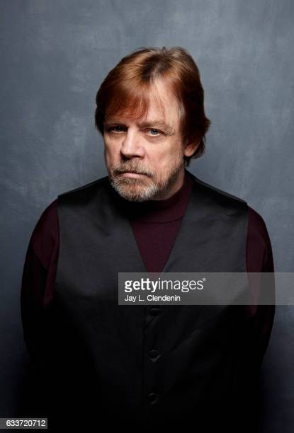 Actor Mark Hamill from the film Brigsby Bear is photographed at the 2017 Sundance Film Festival for Los Angeles Times on January 24 2017 in Park City...