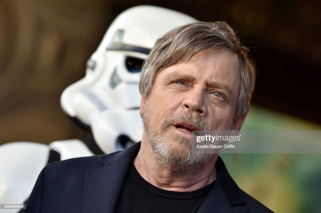 Mark Hamill Honored With Star On The Hollywood Walk Of Fame : News Photo