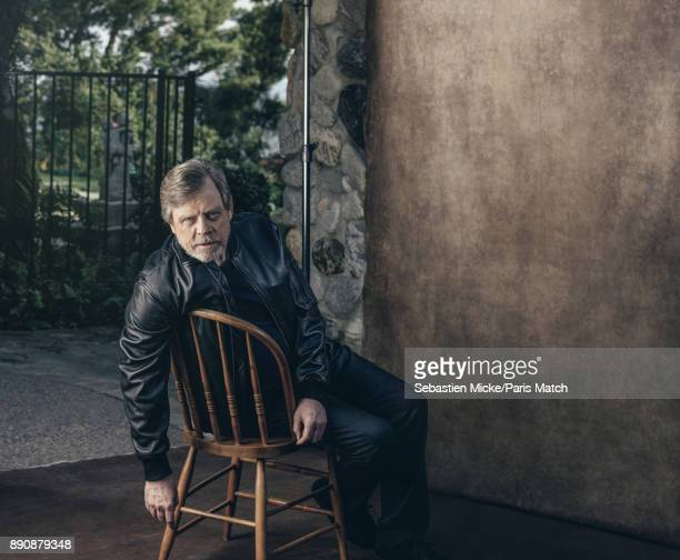Actor Mark Hamill is photographed for Paris Match on November 10 2017 in Los Angeles California