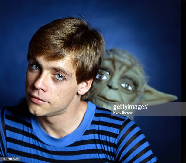 Actor Mark Hamill is photographed with Yoda for People Magazine in 1981 in New York City