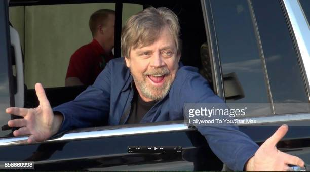 Actor Mark Hamill is seen at ComicCon New York on October 6 2017 in New York City