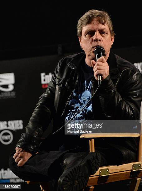 Actor Mark Hamill speaks during the screening of Star Wars Return of the Jedi during Entertainment Weekly CapeTown Film Festival Presented By The...