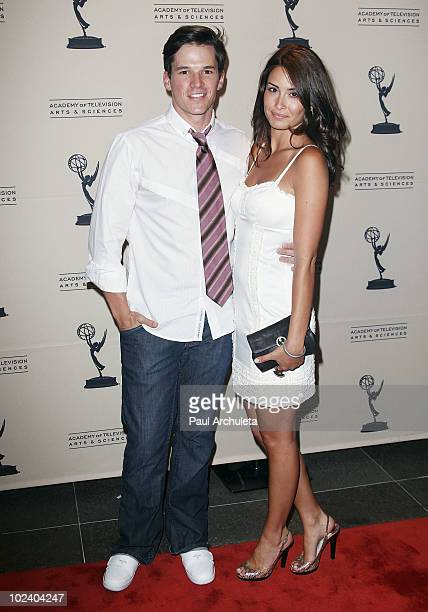 Actor Mark Hapka guest arrives at the 2010 Daytime Emmy Awards nominees cocktail reception at SLS Hotel at Beverly Hills on June 24 2010 in Los...