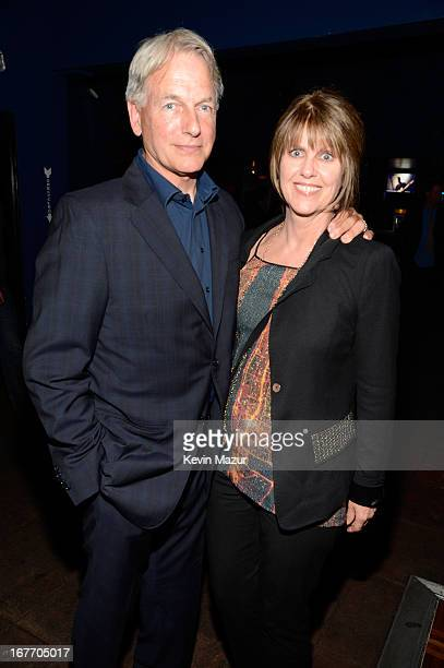 Actor Mark Harmon and wife actress Pam Dawber attend the Rolling Stones performance at Echoplex on April 27 2013 in Los Angeles California The...