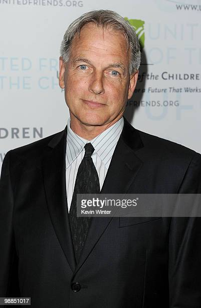 Actor Mark Harmon arrives at the United Friends of the Children's Brass Ring Awards Dinner 2010 honoring Julie Chen Leslie Moonves held at the...