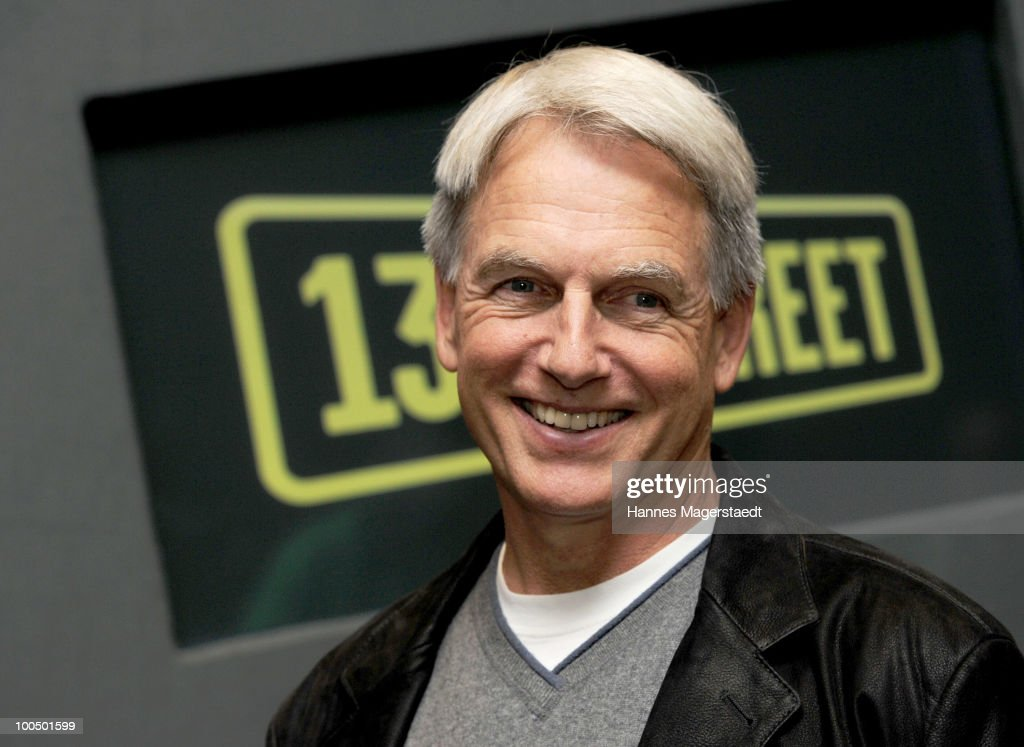 Mark Harmon Of Navy CIS Photocall