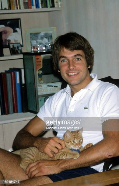 Actor Mark Harmon poses for a portrait in circa 1985